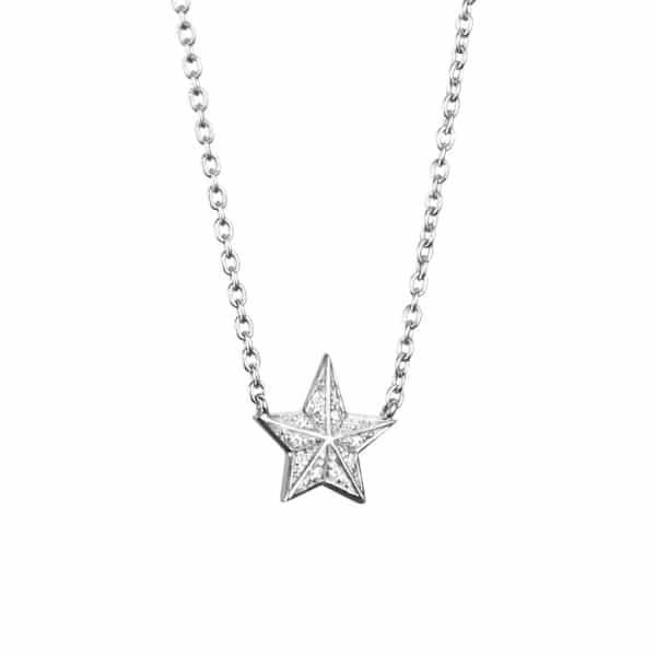 EFVA ATTLING KJEDE CATCH A FALLING STAR & STARS HVITTGULL