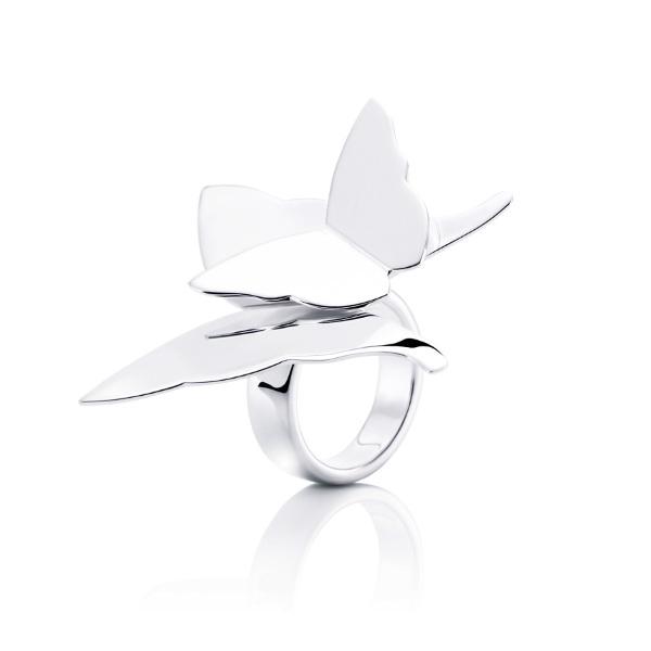 """Efva Attling ring """"miss butterfly"""""""