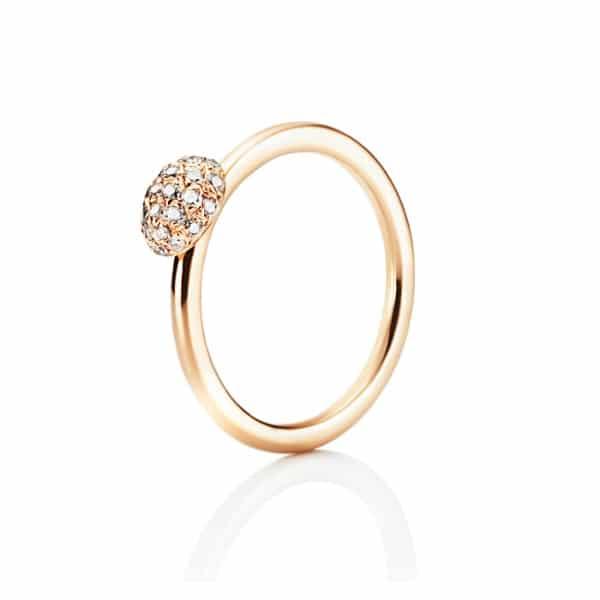 EFVA ATTLING RING LOVE BEAD DIAMOND