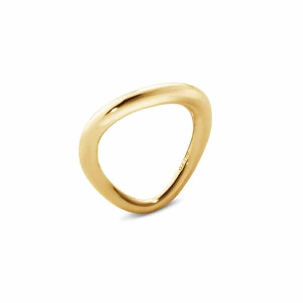 GEORG JENSEN RING OFFSPRING GULTGULL