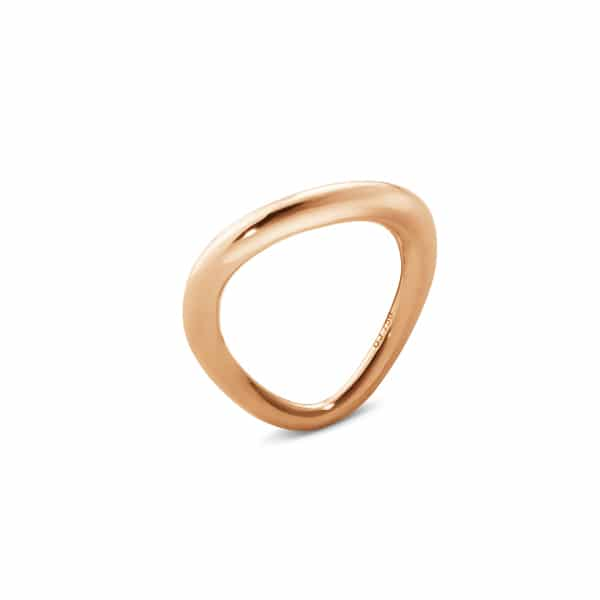 GEORG JENSEN RING OFFSPRING ROSEGULL