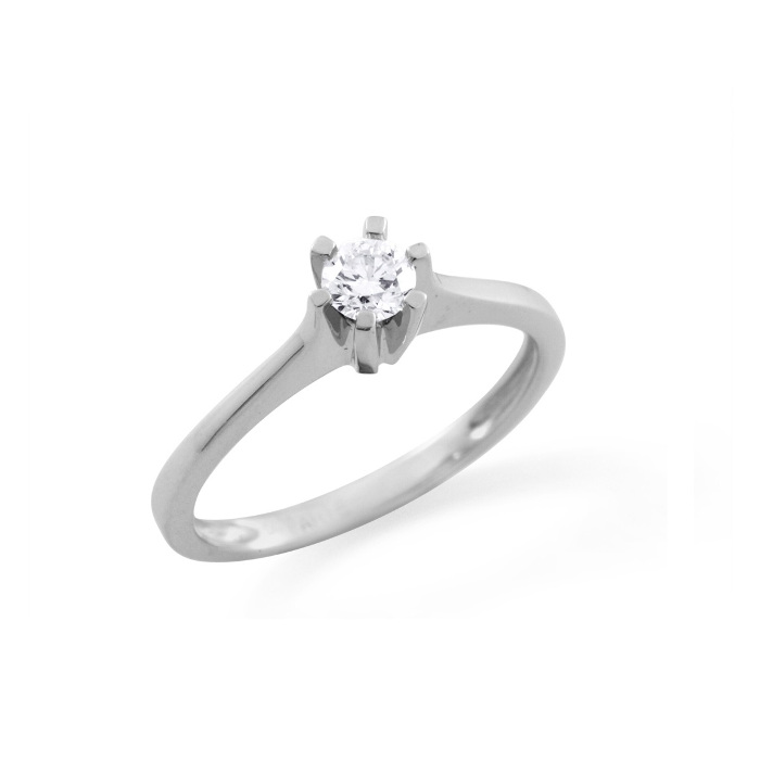 DIAMANTRING 1 STEN 0.15 CT TW.SI