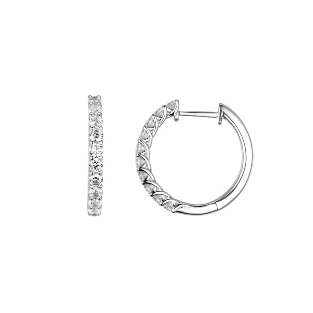 DIAMANT ØRERINGER POP 0,99CT