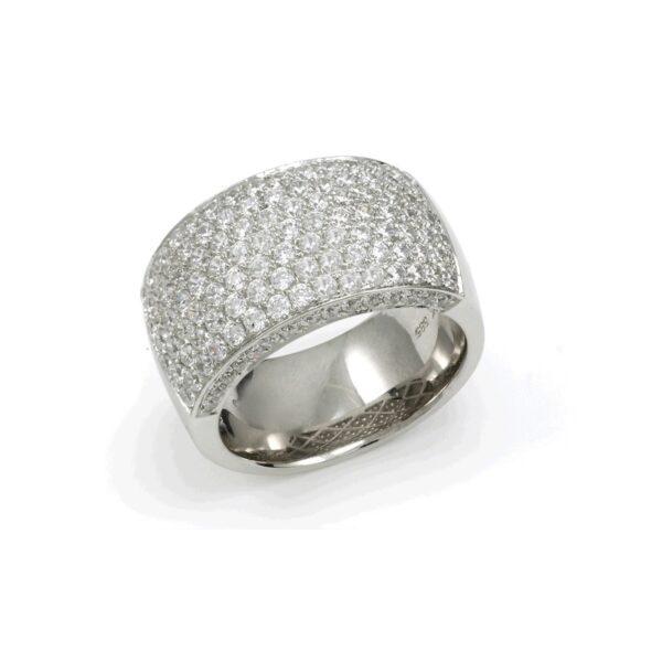 RING DIAMONDSIDE HVITTGULL