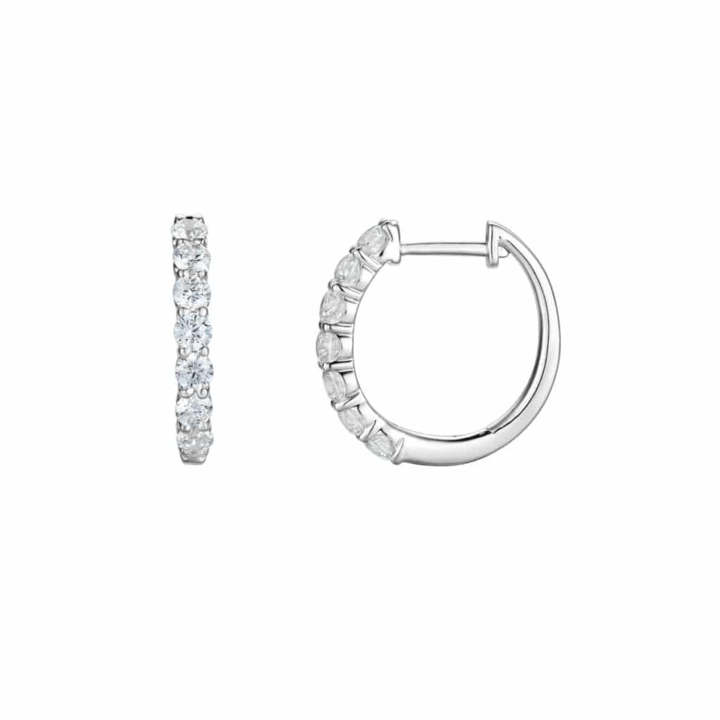 DIAMANT ØRERINGER POP 0,97CT