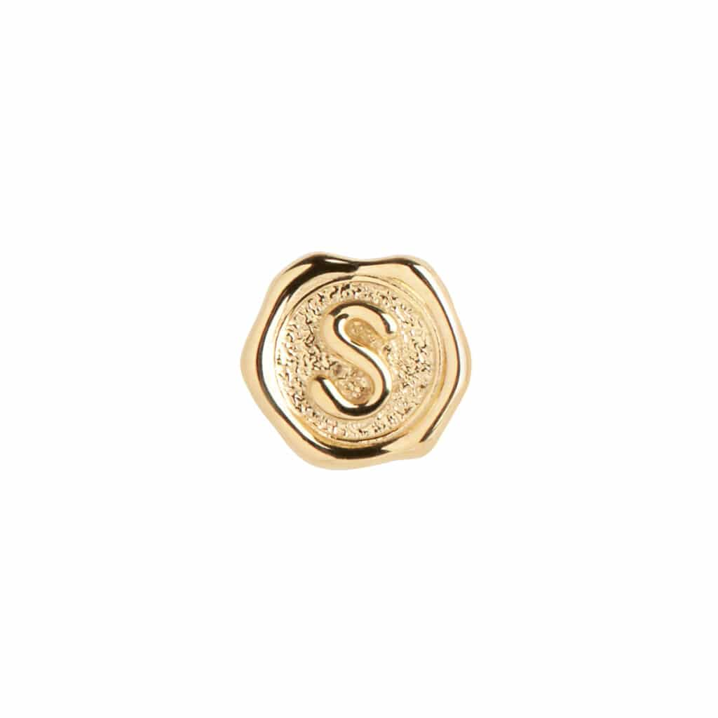 MARIA BLACK LETTER COIN S